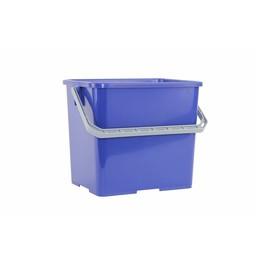 Brite-in Gekleurde Werkwagen Emmer, 6ltr (Blauw)