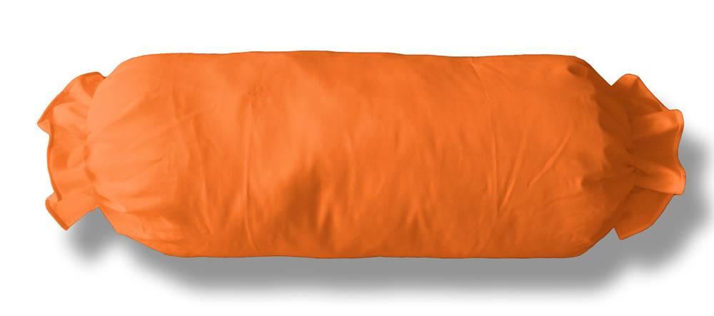 Neckroll koordsloop  oranje