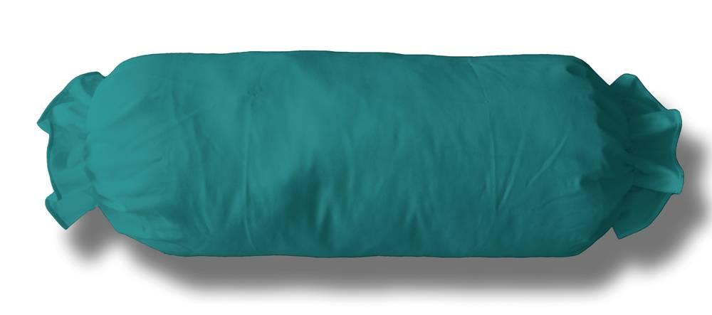 Neckroll koordsloop  turquoise