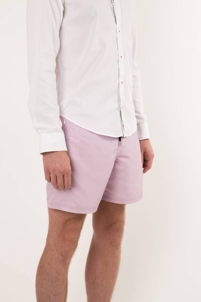 Arpione White Tip Mid-length Swim Short - Lavender