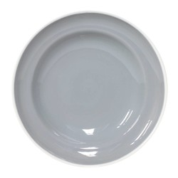 At Home with Marieke Pasta Plate Puck Grey 23cm
