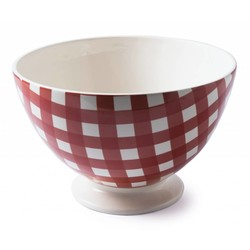 At Home with Marieke Bowl Anne Red 35cm