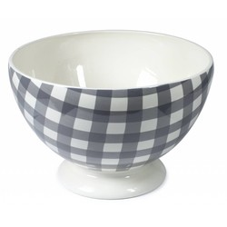 At Home with Marieke Bowl Anne grey 35cm