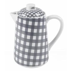 At Home with Marieke Teapot Livia Grey 1500ml