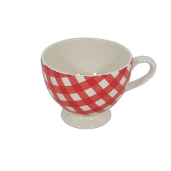 At Home with Marieke Mug XL Livia Red 400ml