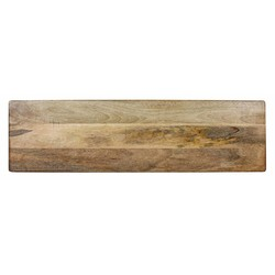 At Home with Marieke Houten Serveerplank XL Natural, 88x30cm