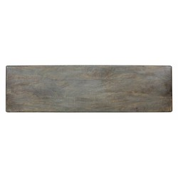 At Home with Marieke Wooden Serving Tray XL Grey board, 88x30cm