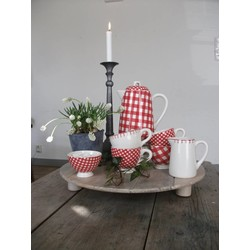 At Home with Marieke Tea set Red