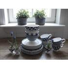 At Home with Marieke Lunch/Diner Voordeel Set Blauw