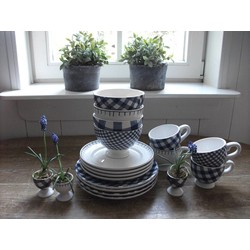 At Home with Marieke Lunch/Dinner Set Blue