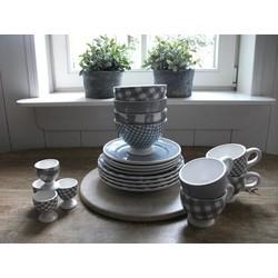 At Home with Marieke Lunch/Diner Voordeel Set Grijs
