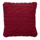 At Home with Marieke ATHM Valley cushion Red 30x30