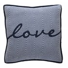 At Home with Marieke AHWM Everyday love cushion Blue 50x50