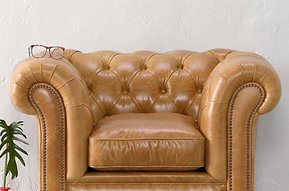 Leather armchair Oxford