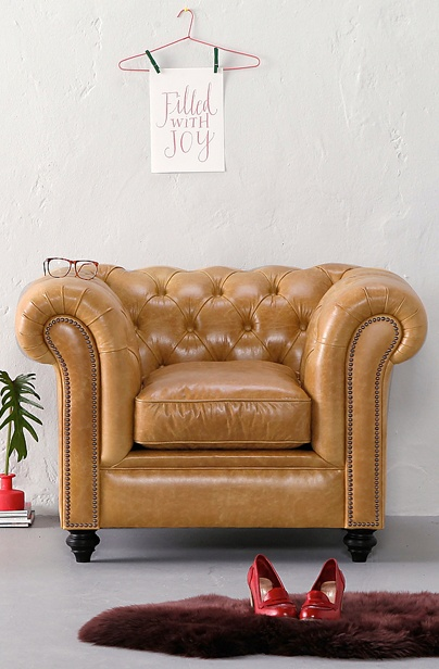 Spectrum Leather armchair Oxford