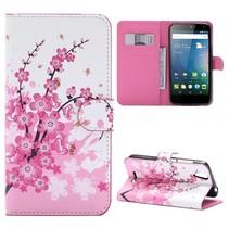 Roze Bloesem Bookcase Hoesje Acer Liquid Z630(S)