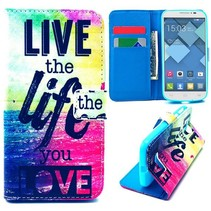 Life quote Bookcase hoes Alcatel One Touch Pop C7