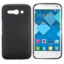 Zwart TPU hoesje Alcatel One Touch Pop C9