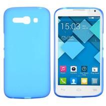 Blauw TPU hoesje Alcatel One Touch Pop C9