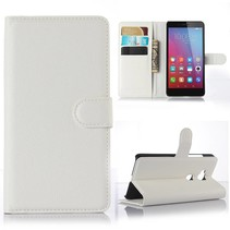 Wit Litchi Bookcase Hoesje Honor 5X