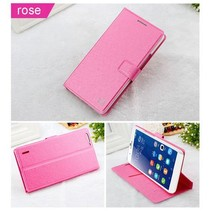 Silk roze Bookcase hoes Honor 6 Plus