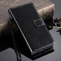 Zwart Bookcase Hoesje Honor 7