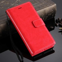 Rood Bookcase Hoesje Honor 7