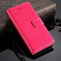 Roze Bookcase Hoesje Honor 7