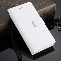 Wit Bookcase Hoesje Honor 7