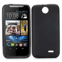 Zwart TPU hoesje HTC Desire 310
