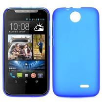 Blauw TPU hoesje HTC Desire 310