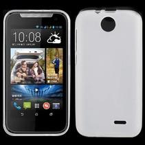 Wit TPU hoesje HTC Desire 310