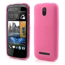Roze TPU hoesje HTC Desire 500