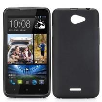 Zwart TPU hoesje HTC Desire 516