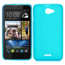 Cyaan TPU hoesje HTC Desire 516