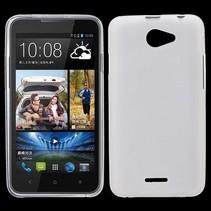 Wit TPU hoesje HTC Desire 516