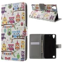 Uiltjes Bookcase Hoesje HTC Desire 530 / 630