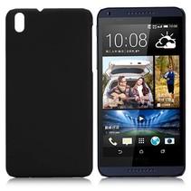Zwart hardcase hoesje HTC Desire 816