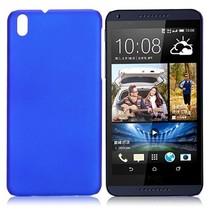 Blauw hardcase hoesje HTC Desire 816