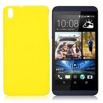 Geel hardcase hoesje HTC Desire 816