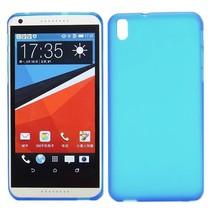 Cyaan TPU hoesje HTC Desire 816