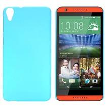 Lichtblauw hardcase hoesje HTC Desire 820
