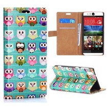 Uiltjes Bookcase hoes HTC Desire Eye