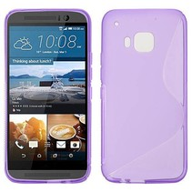 Paars S-design TPU hoesje HTC One M9