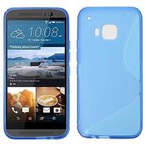 Blauw S-design TPU hoesje HTC One M9