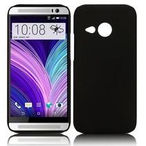 Zwart hardcase hoesje HTC One Mini 2