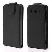 Zwart Flip Case hoesje Huawei Ascend G510