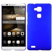 Blauw hardcase hoesje Huawei Mate 7