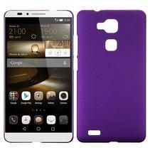 Paars hardcase hoesje Huawei Mate 7
