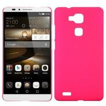 Roze hardcase hoesje Huawei Mate 7